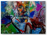 art-moderne-peinture-peintres.merello.einstein-73x54-cm-mix-media-on-table-